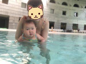 パパ部 パパは君が好き。君もパパが好き。-星野リゾート リゾナーレ八ヶ岳で、はじめてプールに入ったよ