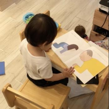 1歳8ヶ月の読書