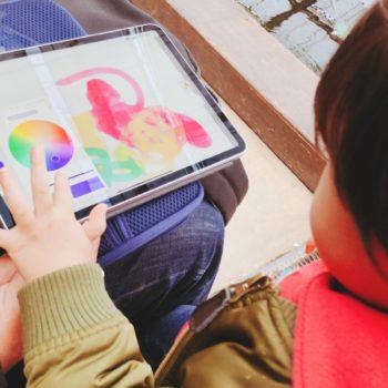 iPad Proでお絵描きするよ