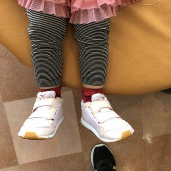 子どもの足にこだわった靴選び