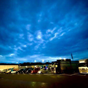 東名高速の大渋滞を回避したよ