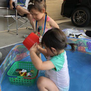 プール遊びから見る 子どもの力関係