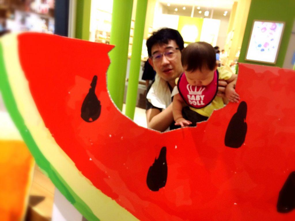 image-大きなスイカを食べたら泣いた | パパ部