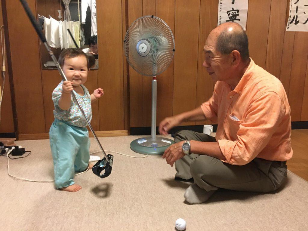 image-じいちゃんのゴルフクラブ | パパ部