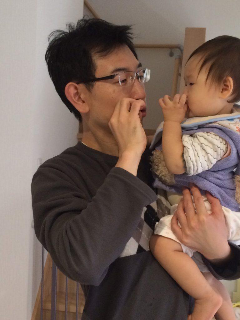 image-また、同じポーズをしてみた | パパ部